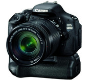 Canon EOS 600D nueva cámara réflex digital de 18 MP