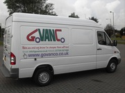 Van hire and driver for £ 10 per hour and £ 1 per mile